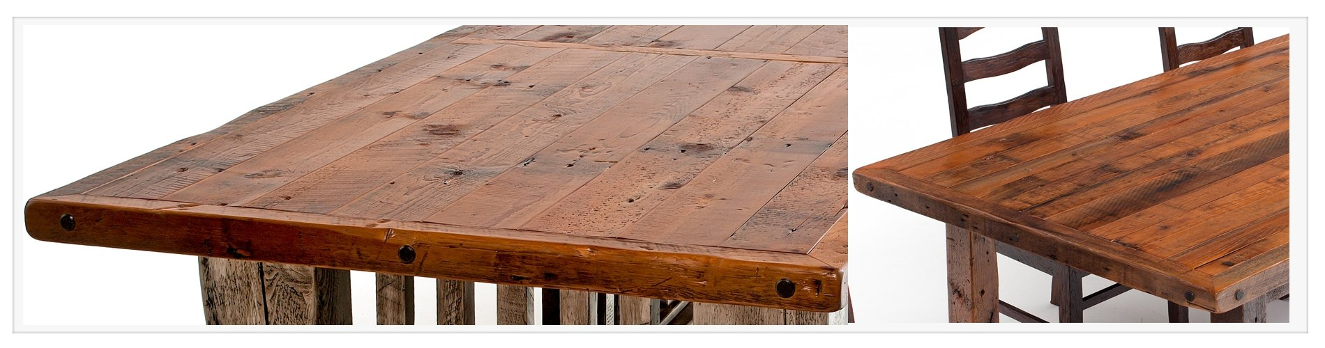 Barnwood Tongue and Groove Top